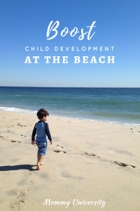 Boost Child Development at the Beach