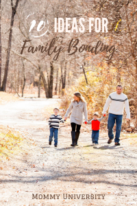 10 Ideas for Promote Family Bonding