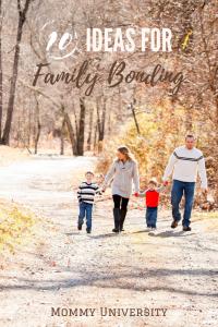 10 Ideas for Promote Family Bonding