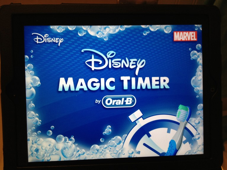 Healthy teeth healthy kids disney magic timer app Magic app
