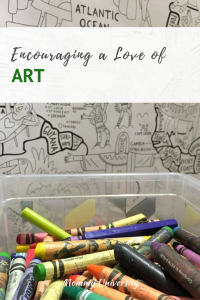 Encouraging a love of Art