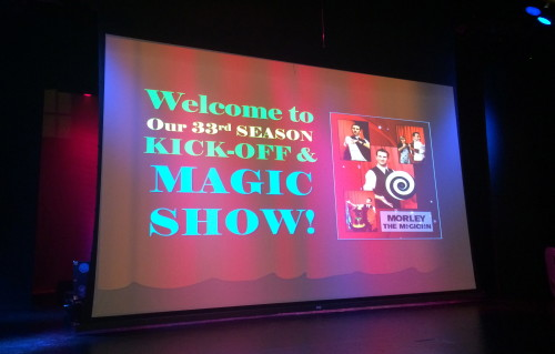 Growing Stage Magic Show