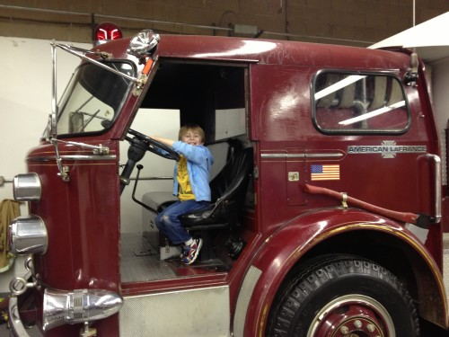 Imagine That Museum allows kids to learn through play. They can even pretend to be a fireman!