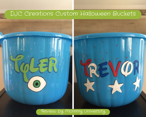 DJC Creations Custom Halloween Bucket