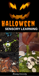 Halloween Sensory Learning
