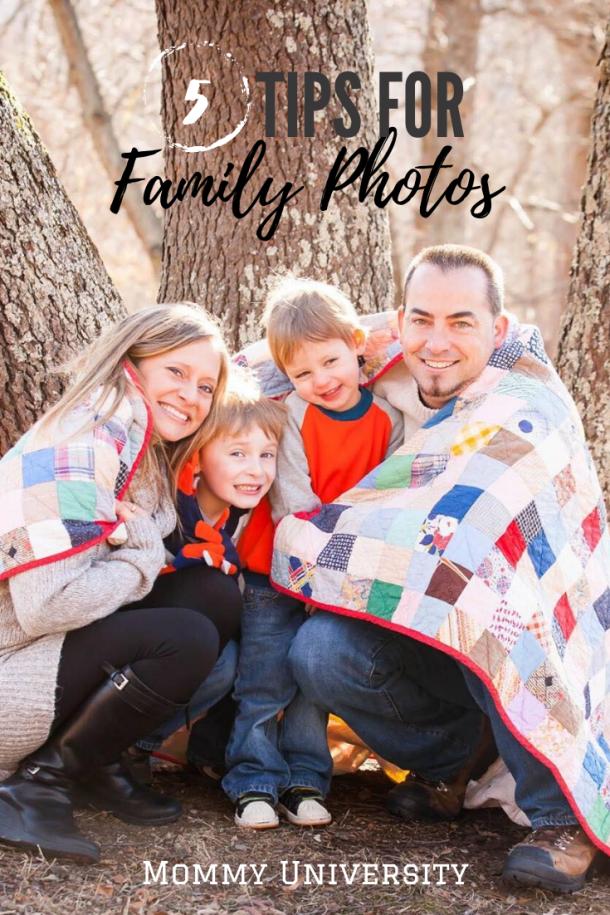 5 Tips for Family Photos