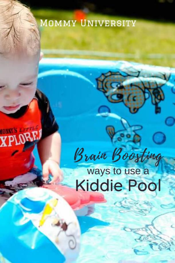 Brain Boosting Ways to Use a Kiddie Pool