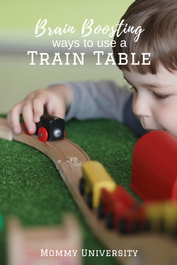 Brain Boosting Ways to Use a Train table