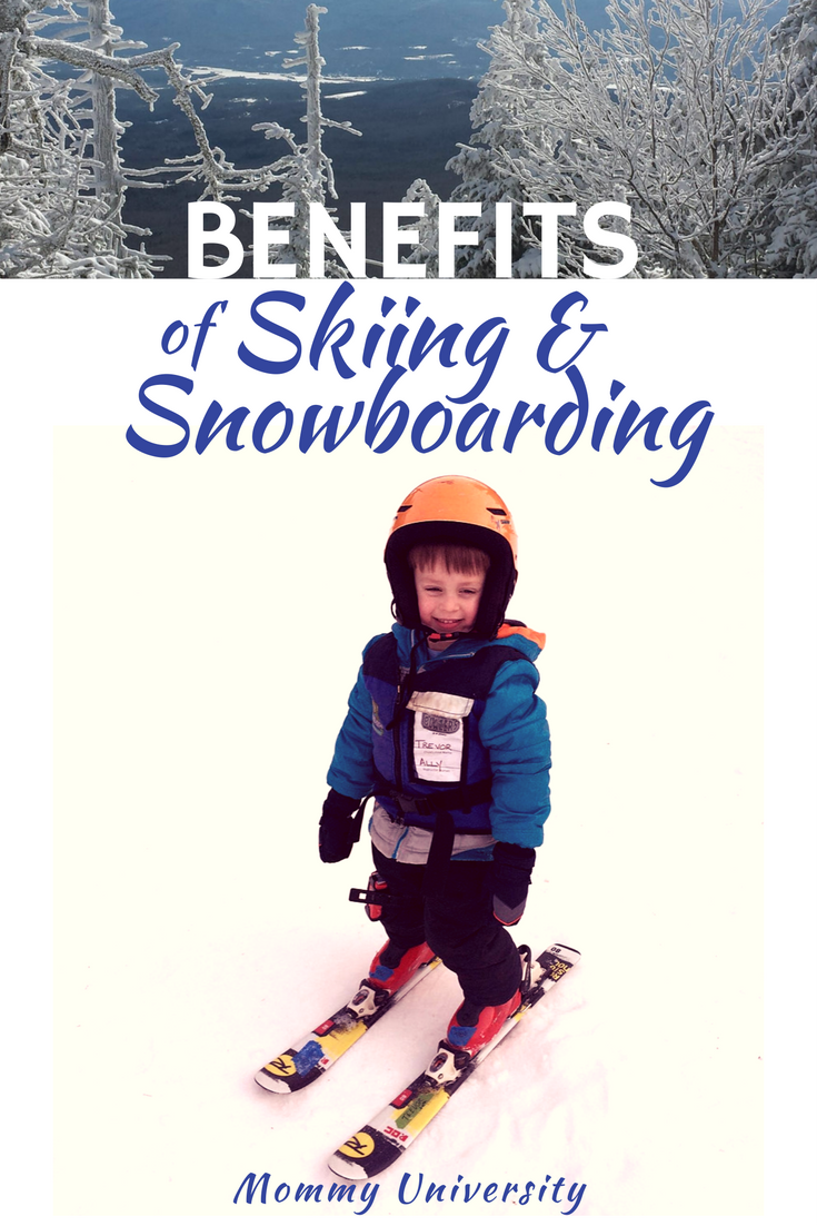 Benefits of Skiing and Snowboarding