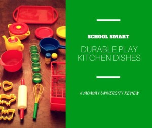 Durable Play Kitchen Dishes