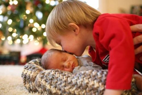 Tyler and Baby Trevor