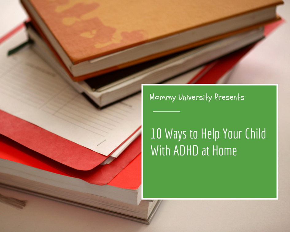 Helping Kids with ADHD