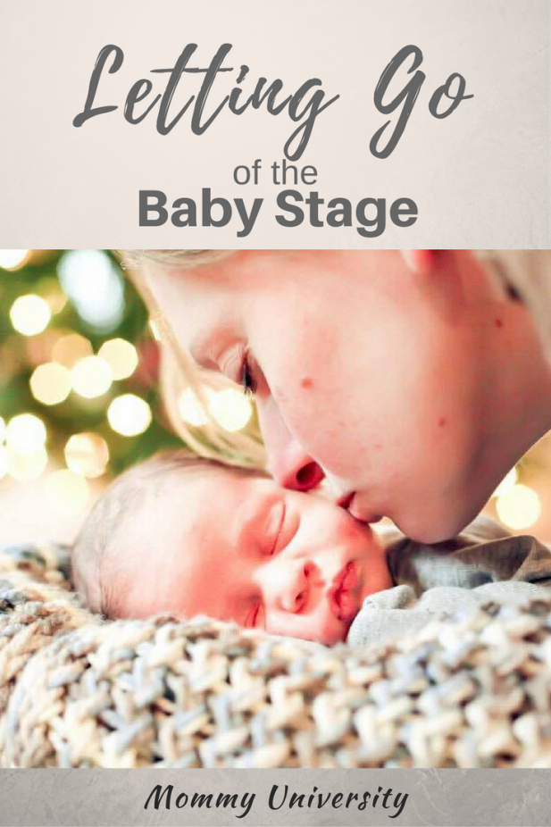 Letting Go of the Baby Stage