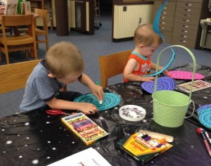 Drop-in crafts at your local library are a great way to get crafty and boost creativity!