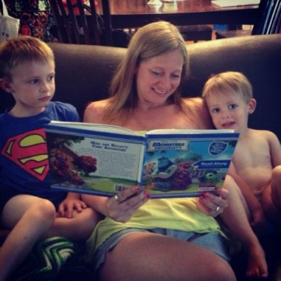 Reading together every night helps kids build a love and appreciation for reading.