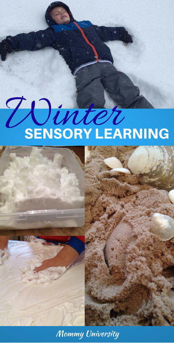 winter sensory learning