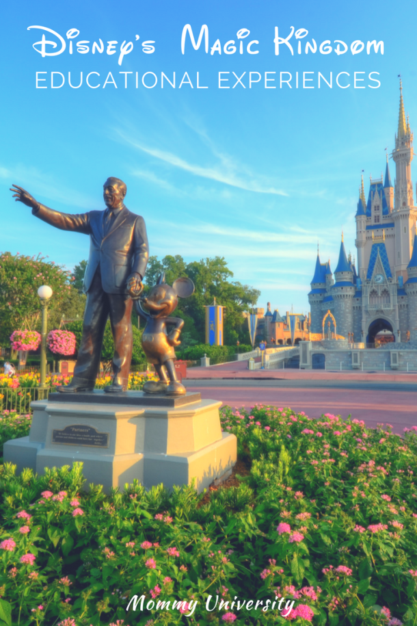 Disney's Magic Kingdom Educational Experiences