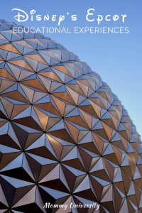 Disney's Epcot Educational Experiences