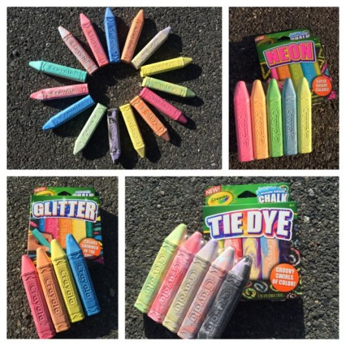 Crayola Chalk Collage