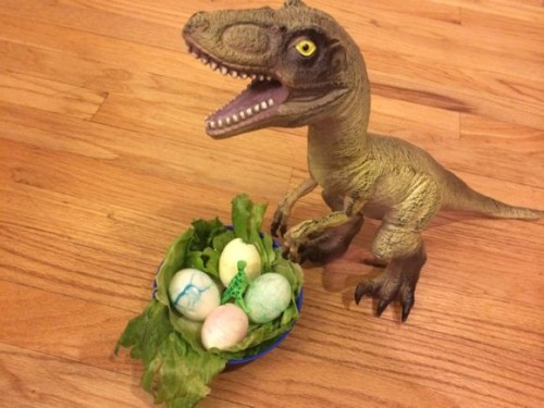 What kid wouldn't love to make their own dinosaur eggs?