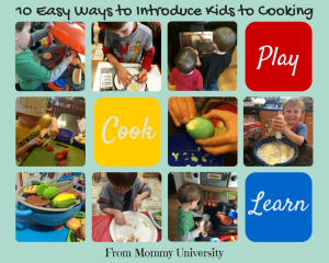 Introduce kids to cooking