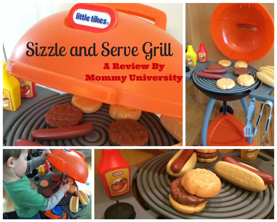 Sizzle and Serve Grill