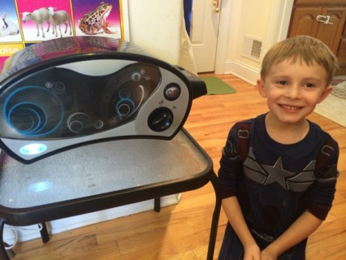 Easy Bake Oven is not just for girls anymore! My son loves making cookies and other recipes with his!