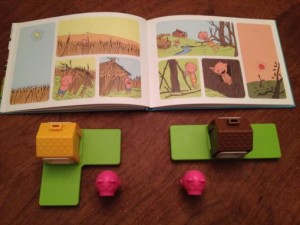 Three Little Piggies Story Time