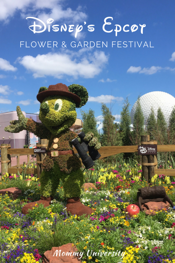 Disney's Epcot Flower and Garden Show