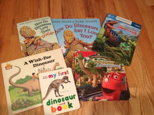 Here are some fun Dino books we read on Dino Day!