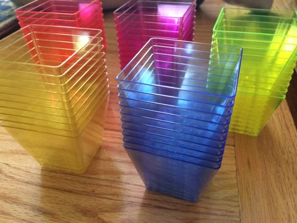 The bright and vibrant colors of the stacking cups makes this toy perfect for learning colors!