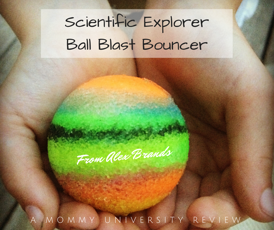 Ball Blast Bouncer