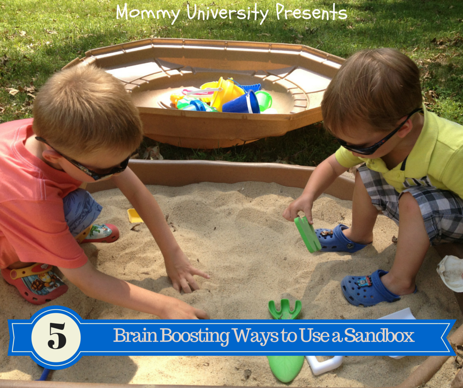 Brain Boosting Ways to Use a Sandbox