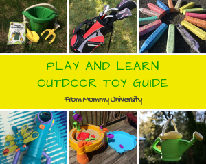 Play and Learn Outdoor Toy Guide