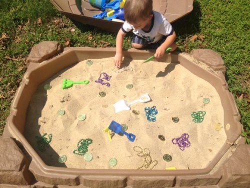 Sandbox Treasure Hunt
