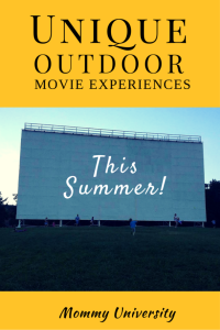 Unique Outdoor Movie