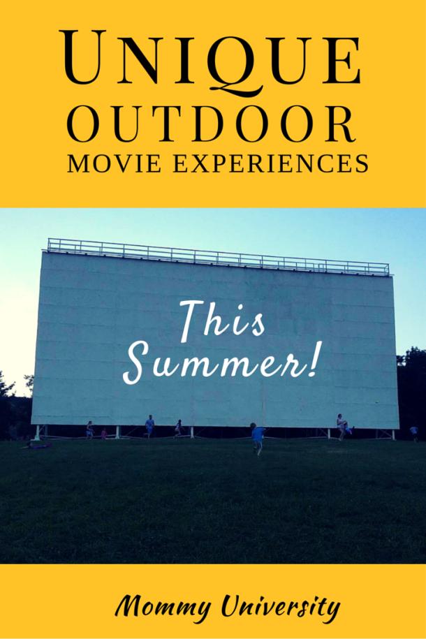 Unique Outdoor Movie