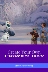 Create Your Own Frozen Day