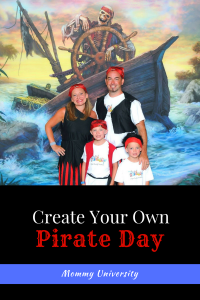Create Your Own Pirate Day