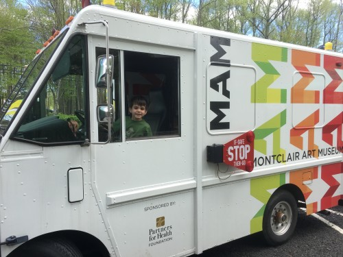 Montclair Art Museum Truck