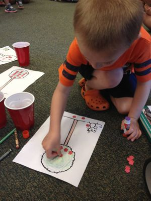 After story time, kids can make a fun craft based on the story.