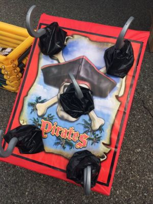 Here is an example of a Captain Hook Ring Toss we found at a festival.
