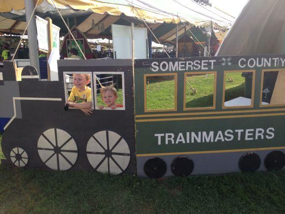 My boys LOVE the Somerset County 4-H Fair!