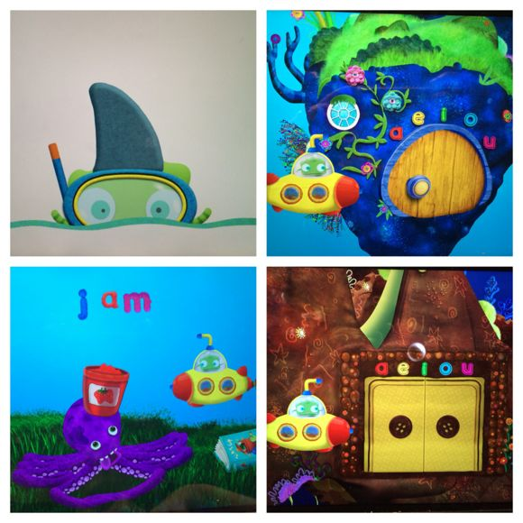 Tiggly Submarine Collage