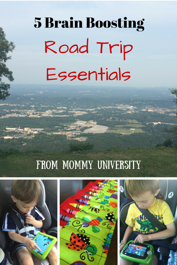 5 Brain Boosting Road Trip Essentials