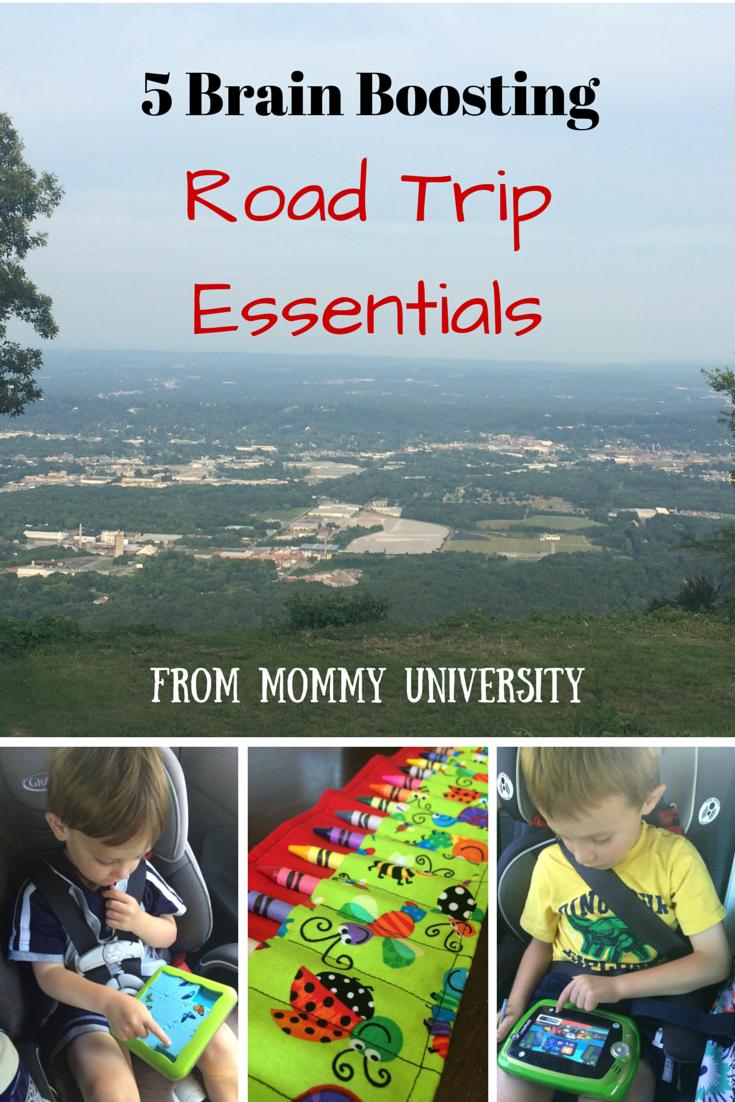 5 Brain Boosting Road Trip Essentials