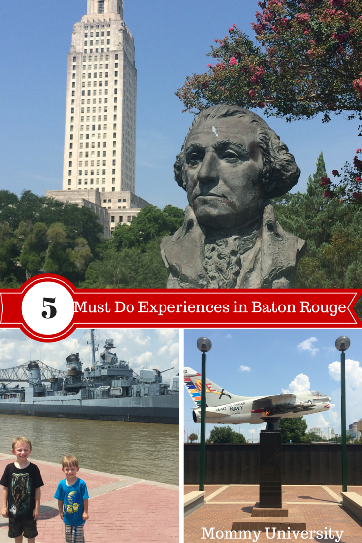 5 Must Do Experiences in Baton Rouge