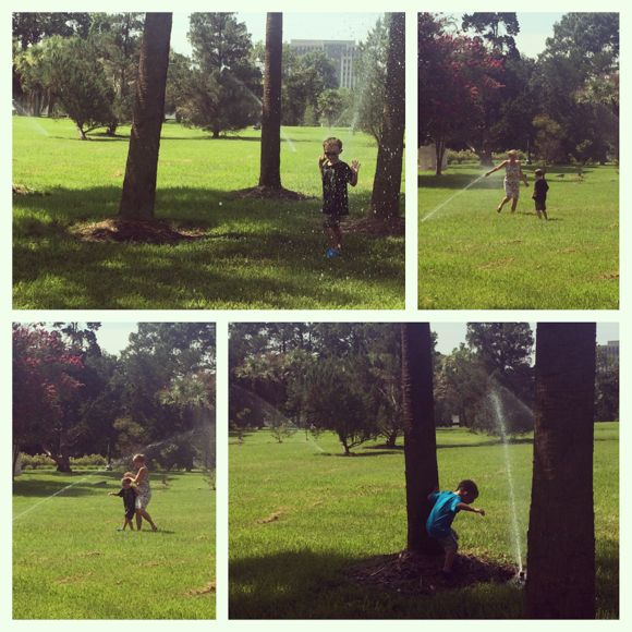 Arsenal Park Sprinklers