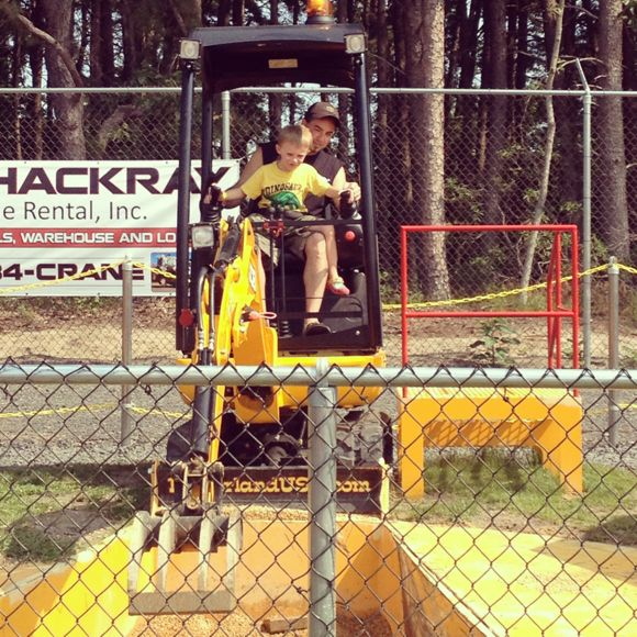 Diggerland with Dad