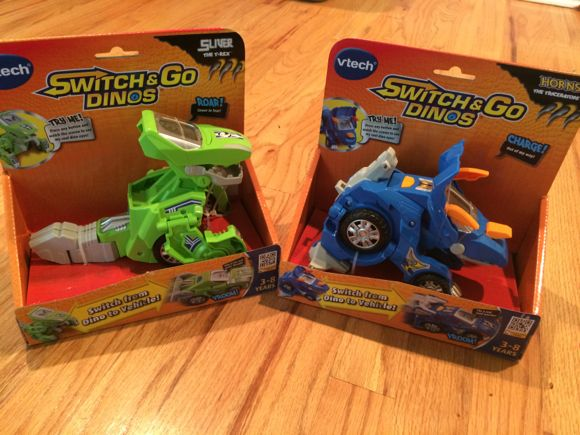 Switch and Go Dinos in Box